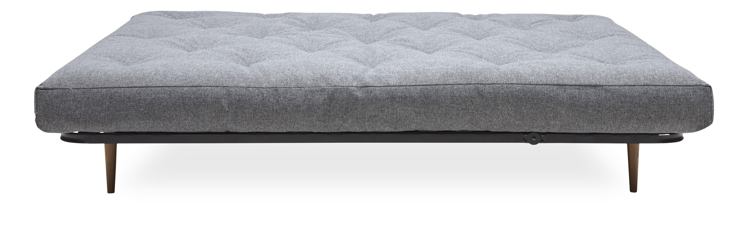 Innovation Living - Classic Round Sovesofa madras - Twist 565 Granite og ekskl. Ben
