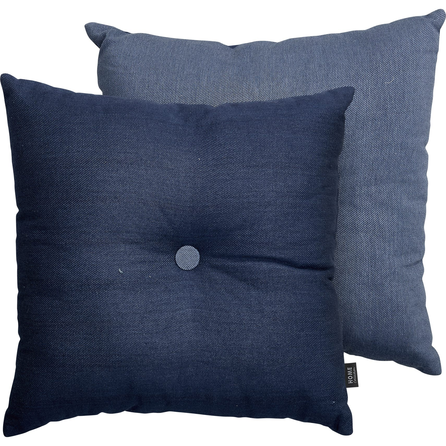Kosma Pude - Dress blue/flint stone bomuld og 1 knap