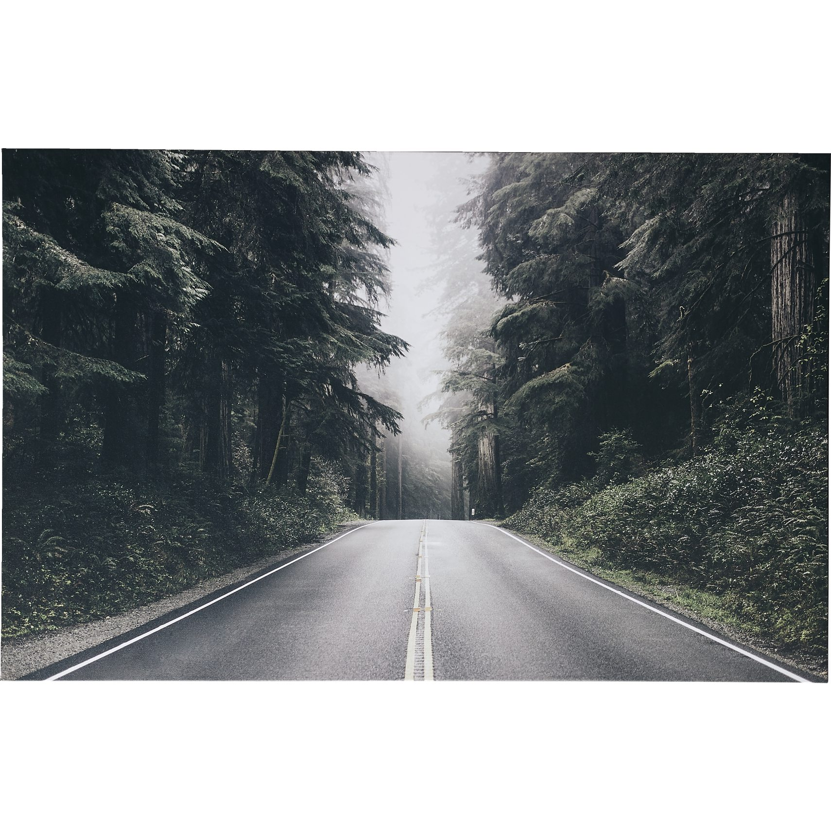 Forest Road Fotoprint 180 x 110 x 3,5 cm -