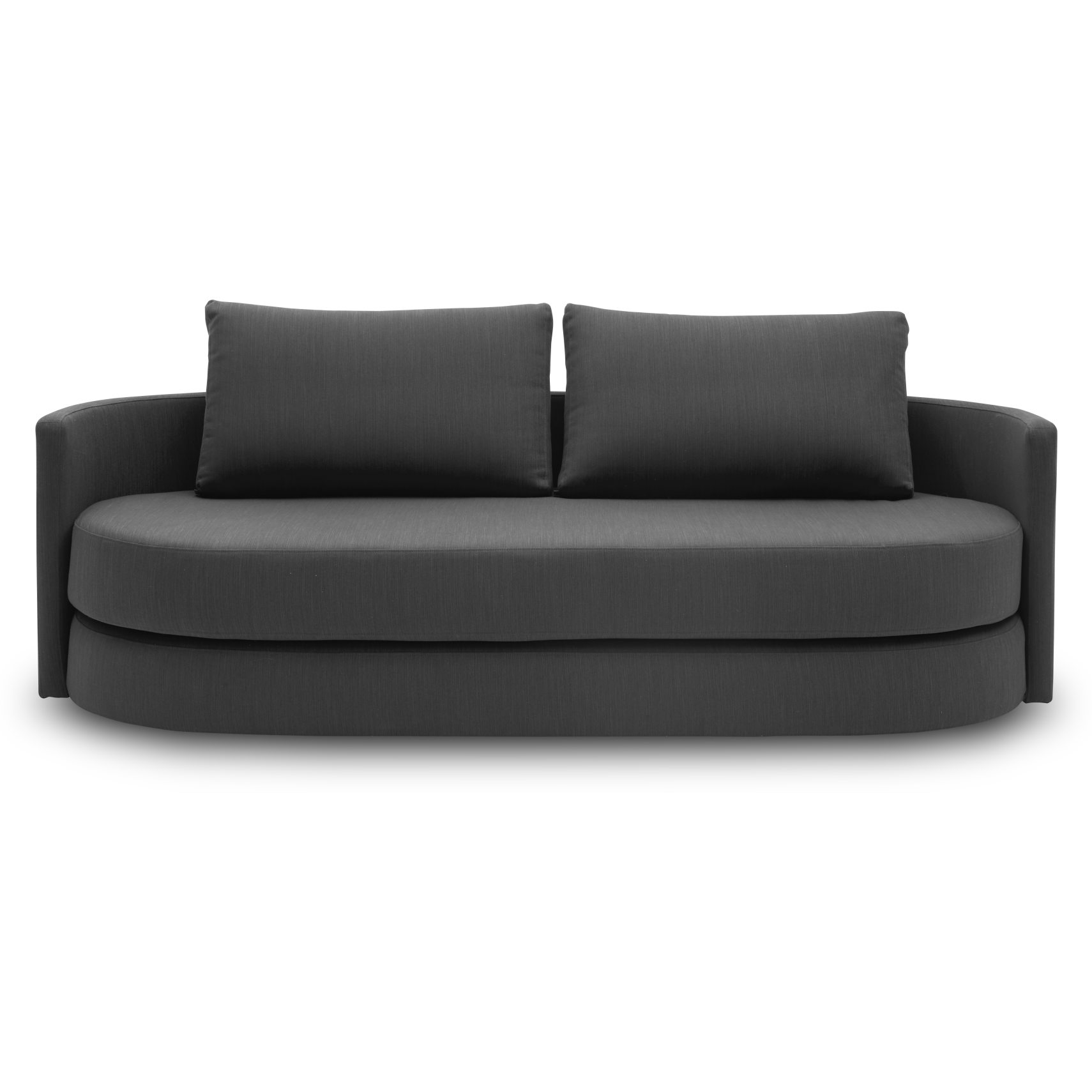 Innovation Living - Vile Sovesofa - Elegance 509 Anthracite Grey stof og pocketspring madras