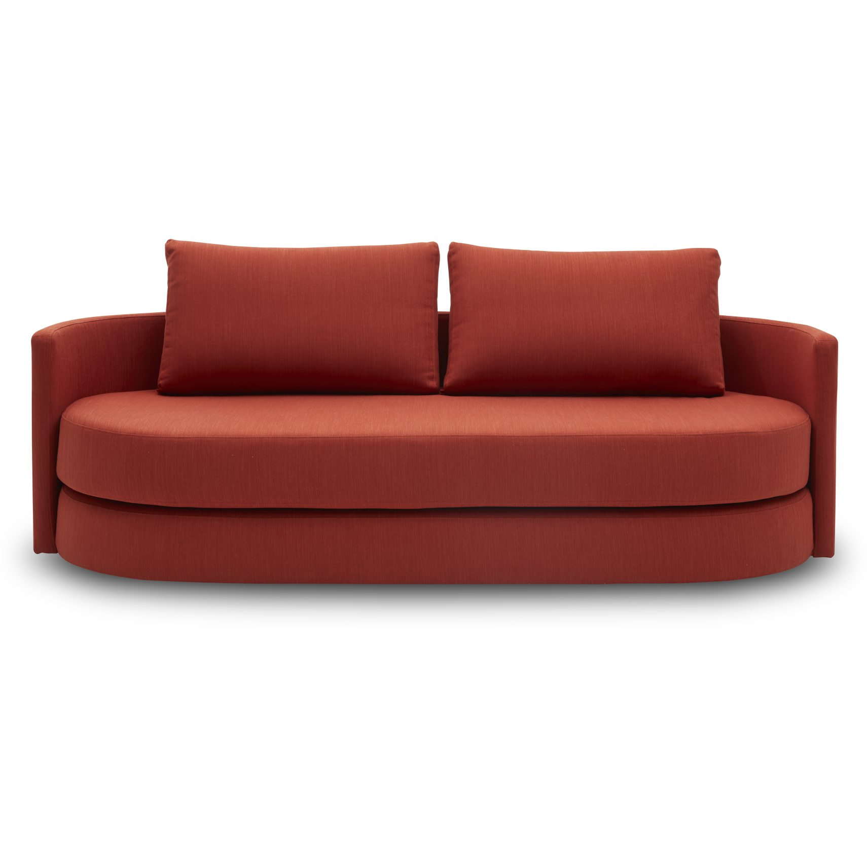 Innovation Living - Vile Sovesofa - Elegance 506 Paprika stof og pocketspring madras
