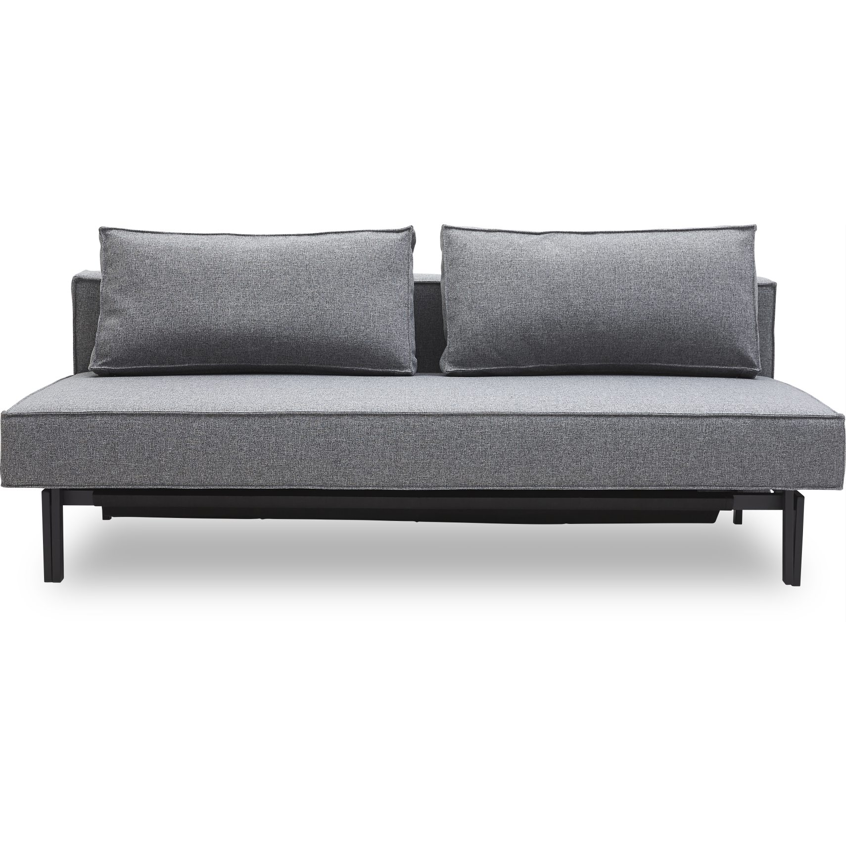 Innovation Living - Sly Sovesofa - Twist 565 Granite og sorte ben