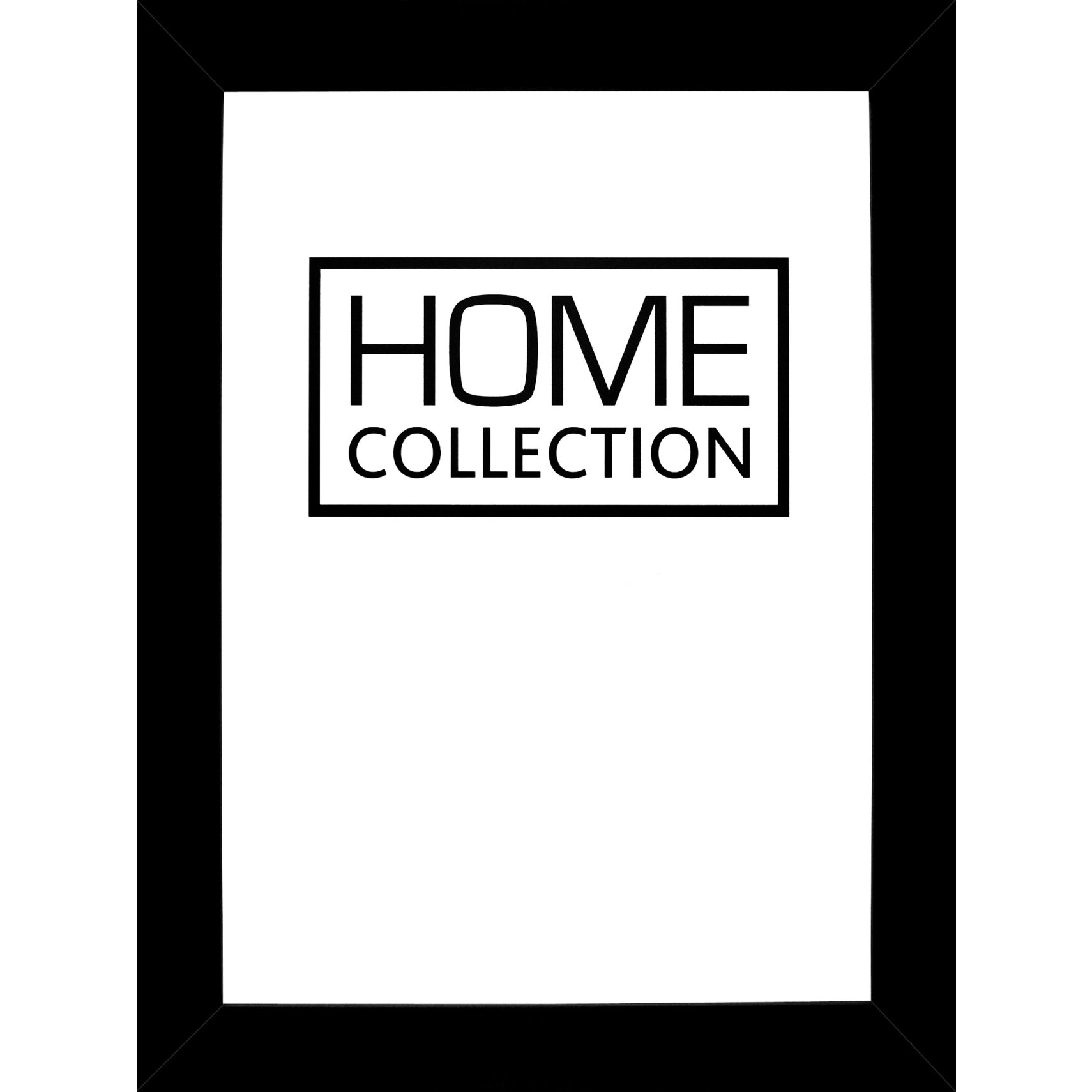 HOME COLLECTION Ramme - Sort træramme