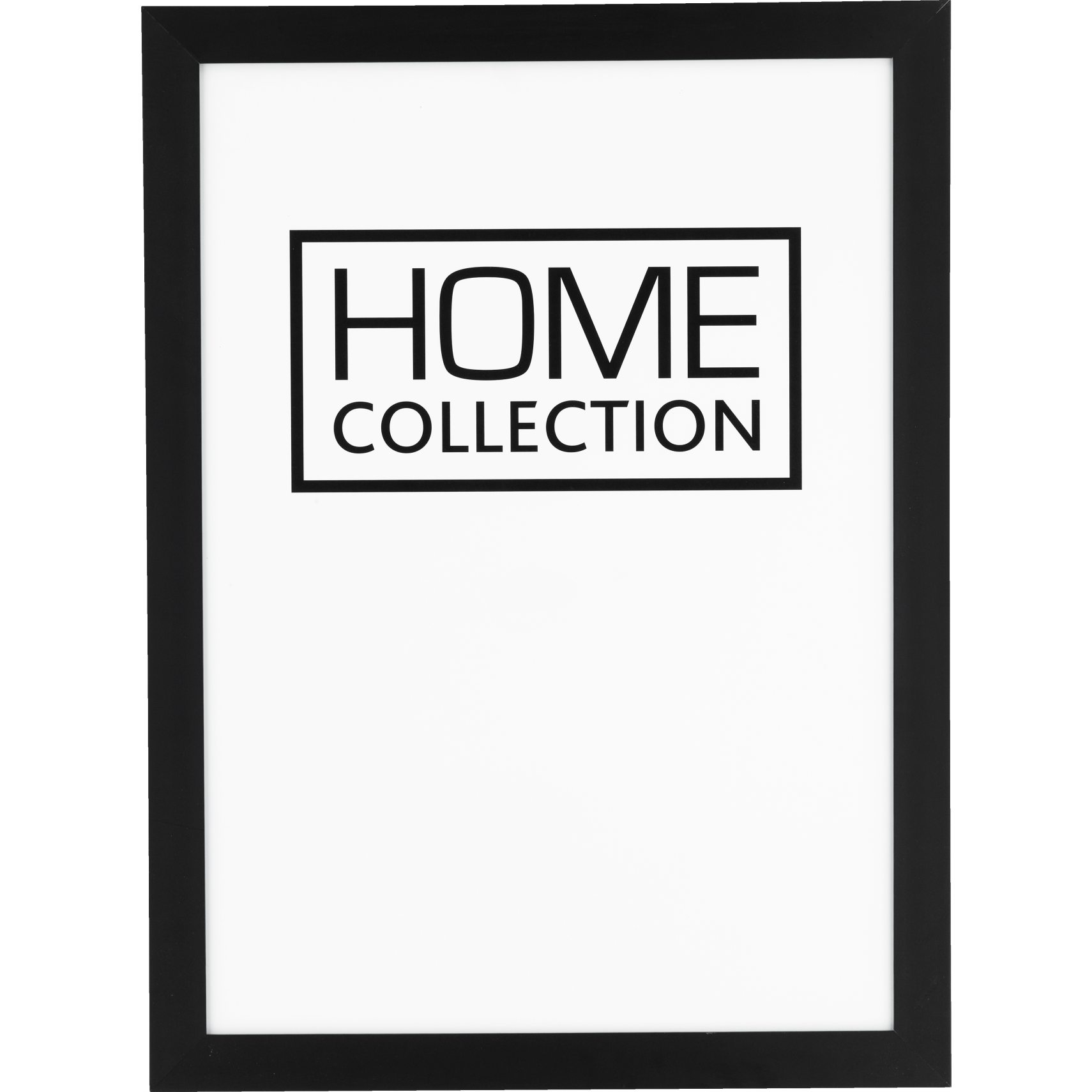 HOME COLLECTION Ramme 30 x 40 x 2 cm - Sort træramme