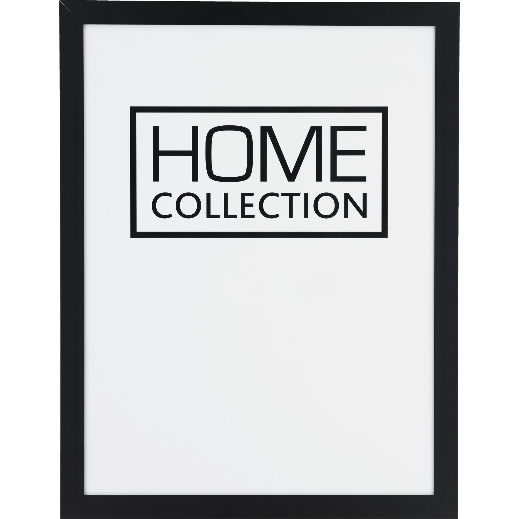 HOME COLLECTION Ramme 60 x 80 x 2 cm - Sort træramme