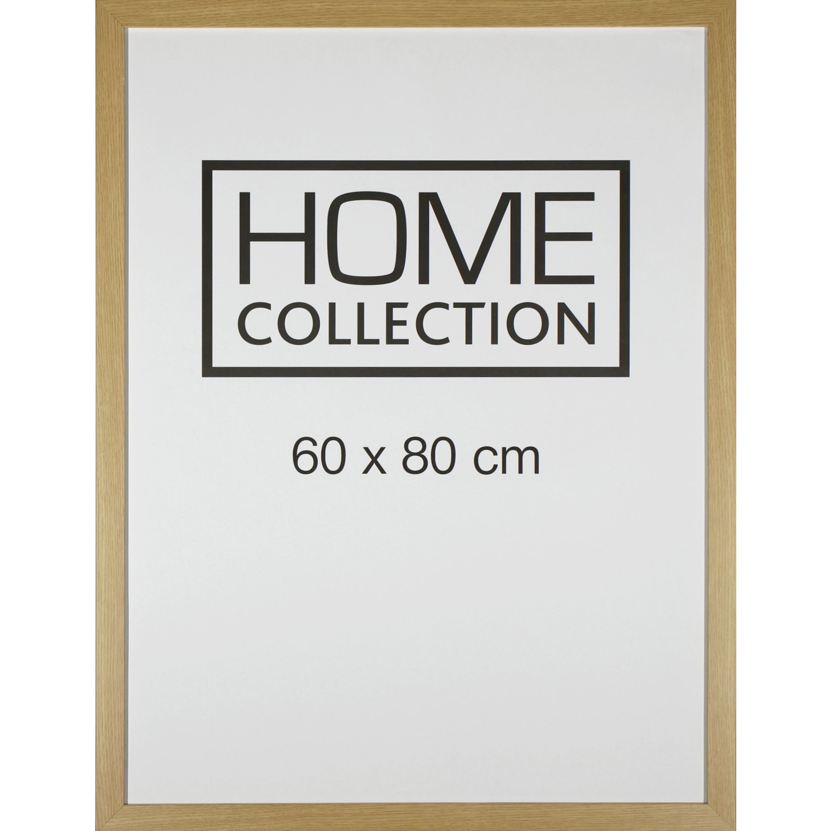 HOME COLLECTION Ramme 60 x 80 x 2 cm - Egetræ ramme