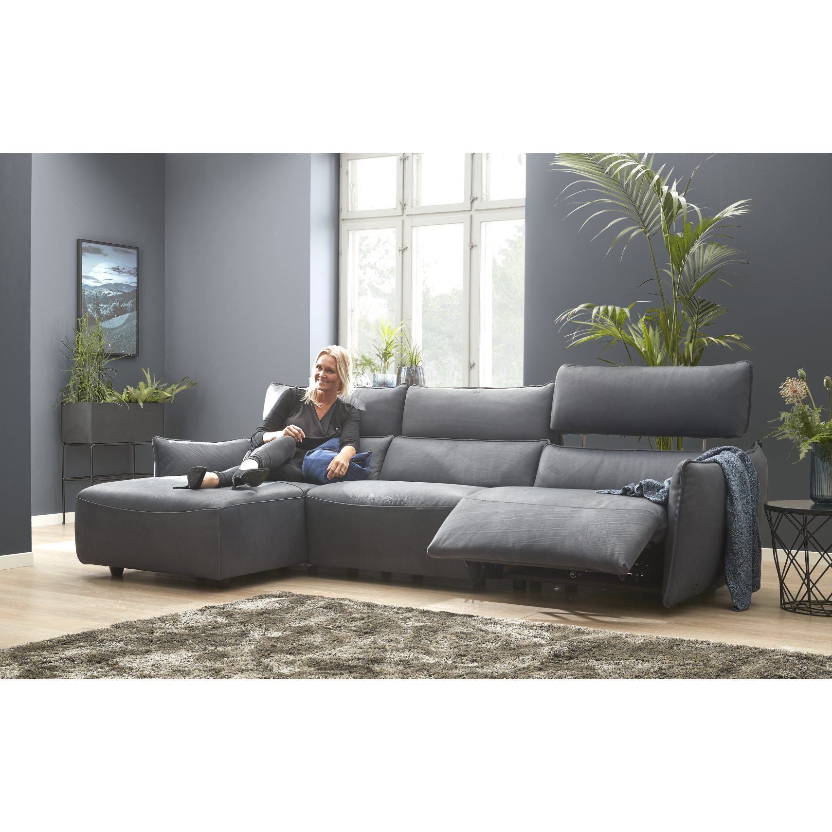 Natuzzi Editions C027 Sofa med chaiselong