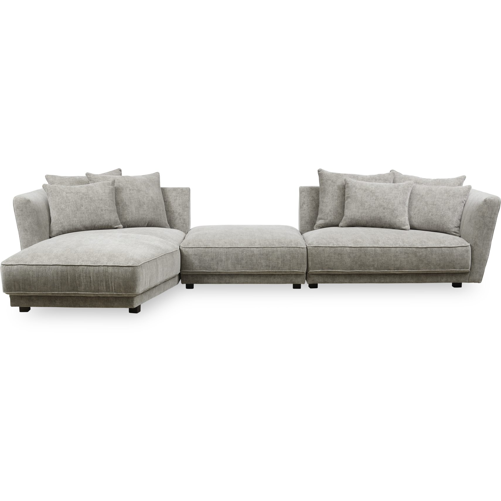 Linnett venstrevendt Sofa med chaiselong - Sofa med chaiselong